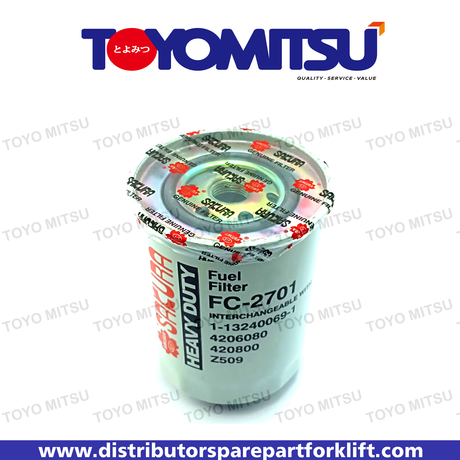 Jual Spare Part Forklift Fuel Filter Diesel Murah 081336007250 Bendix Filters