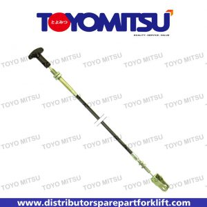 Jual Spare Part Forklift Engine Hood Cable