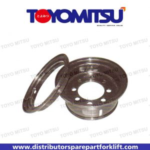Jual Spare Part Forklift Wheel Rim