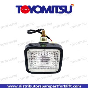 Jual Spare Part Forklift Head Lamp Assy Square