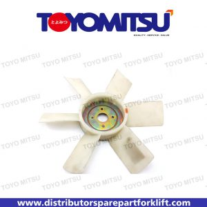 Jual Spare Part Forklift Fan Cooling Assy