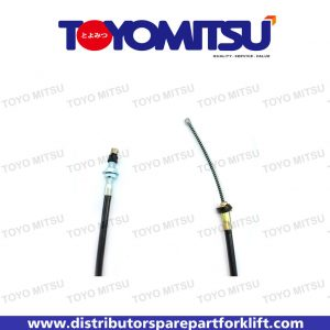 Jual Spare Part Forklift Cable Lh