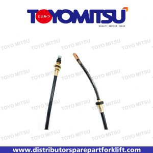 Jual Spare Part Forklift Cable Hand Brake