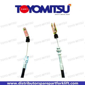 Jual Spare Part Forklift Cable Thrott