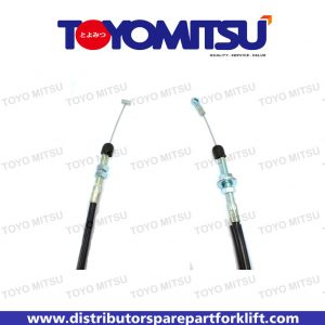 Jual Spare Part Forklift Cable Assy Accelerator